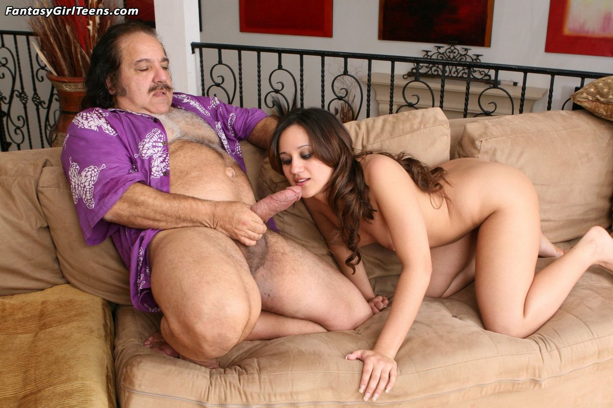Ron jeremy porn star brunette